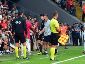 UEFA Avrupa Ligi: Beşiktaş: 2 - Partizan: 0 (İlk yarı)