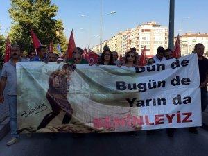 CHP Zafer Bayramı yürüyüşü yaptı