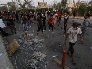 Basra'daki gösterilerde 1 kişi öldü