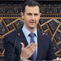 Esed Şam'da halkla buluştu