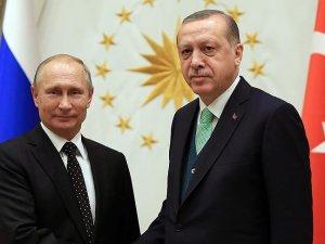 Cumhurbaşkanı Erdoğan, Rusya Devlet Başkanı Putin ile görüşecek