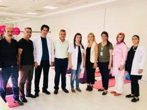 Mardin'de gebe eğitim okulu açıldı