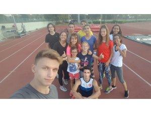 Osmangazili atletler yeni sezona hazır