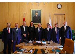 """Başkan Şahin: """"Hedefimiz Samsun 2023"""""""