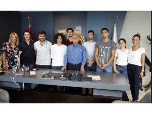 Öğrencilerden Başkan Karabağ'a teşekkür ziyareti