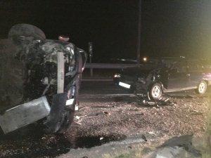 Çankırı'da trafik kazası 7 yaralı