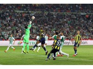 Spor Toto Süper Lig: Atiker Konyaspor: 0 - Fenerbahçe: 0 (İlk yarı)