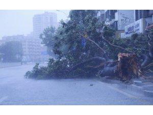 Mangkhut Tayfunu Çin'e ulaştı: 2 ölü