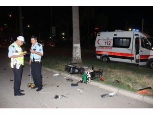 Hatay'da elektrikli bisiklet ile otomobil çarpıştı: 1 yaralı