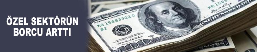 Özel sektörün kısa vadeli borcu arttı