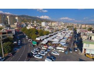 Dulkadiroğlu'na yeni pazar yeri
