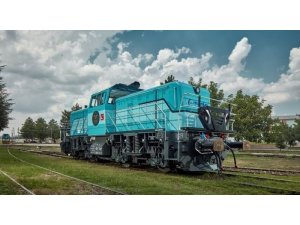 Yerli hibrit lokomotif Almanya'da tanıtıldı