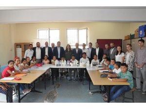 GAGİAD'dan ortaokul laboratuvarına malzeme ve kitap bağışı