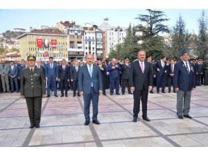 Kastamonu'da 19 Eylül Gaziler Günü törenle kutlandı