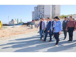 Başkan Gürkan, park çalışmalarını yerinde inceledi