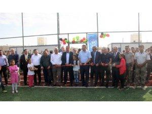 Çobanbey'de bölge adliyesi ile spor tesisi açılışı yapıldı