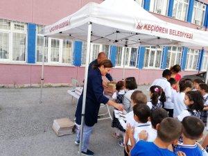 Keçiören Belediyesinden miniklere okula alışma desteği
