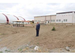Çiğdemli Belediyesine Kültür Evi ve spor tesisi