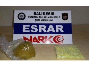 Balıkesir polisi uyuşturucu satıcılarına göz açtırmıyor