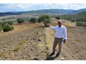 Köylüler tarım arazilerini geri istiyor