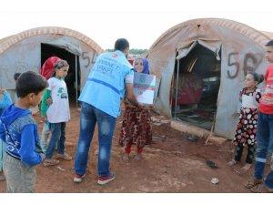 Türkiye Diyanet Vakfından Suriye'ye yardım eli