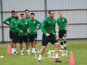 Çaykur Rizespor, Evkur Yeni Malatyaspor maçının hazırlıklarını sürdürüyor