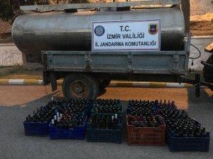 İzmir'de kaçak içkiye büyük darbe