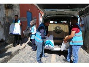 Eyyübiye Belediyesi, muhtaç ailelere yardımlarını sürdürüyor