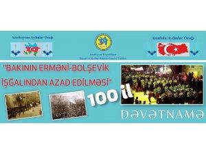 Nuri Paşa ve Kafkas İslam Orduları'nın 100. yılı kutlandı