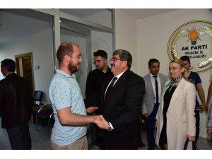 Başkan Can, AK Parti il yöneticileri ile bir araya geldi