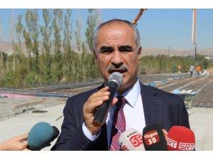 Sivas'ın trafiğini rahatlatacak bulvarın yapımı sürüyor