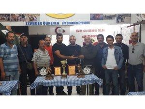 Eskişehirli sportif balıkçılar Afyonkarahisar'dan zaferle döndü
