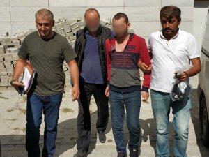 Baba ve oğlu, komşusunun evine silahlı saldırıdan gözaltına alındı