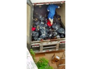 Meksika'daki ölüm treylerinin fotoğrafları paylaşıldı