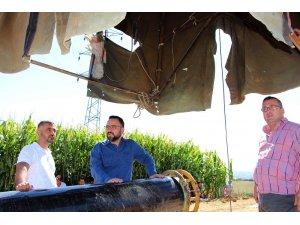AK Parti'li Palabıyık doğalgaz çalışmalarını yerinde inceledi