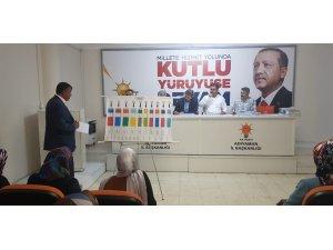 AK Parti merkez ilçe başkanlığı seçim çalışmalarına start verdi