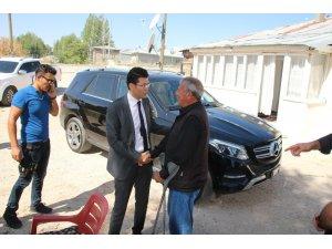 Varto Kaymakamı Kaçmaz'dan gazi ve şehit ailelerine ziyaret