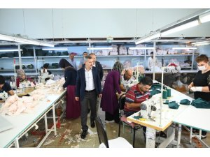 Başkan Çınar'dan, yerli üretime destek