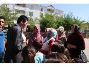 Vartolu Kadınlar kaymakamdan okul servisi talep ettiler