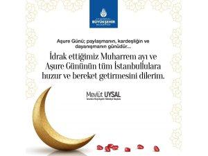 İBB Başkanı Uysal'dan Muharrem ayı ve Aşure Günü mesajı