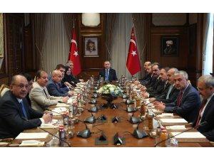 Irak Temsilciler Meclisi Türkmen milletvekilleri Cumhurbaşkanlığı Külliyesi'nde