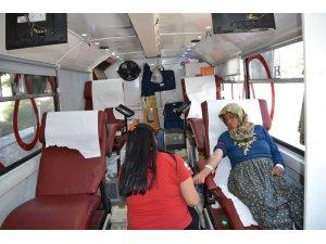 Şuhut'ta kan bağışı kampanyası düzenlendi