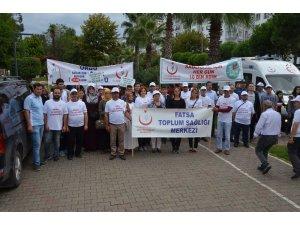 Fatsa'da 'Sağlık İçin Hareket Yürüyüşü'