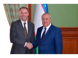 Almanya Dışişlerinden Sorumlu Devlet Bakanı Özbekistan'a geldi