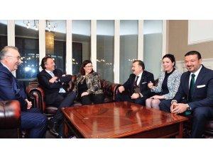 İşadamı Turgut Torunogulları'ndan Hollanda Dışişleri Bakanına ziyaret