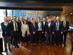 Zagreb Kulübü, Fenerbahçe yönetimini yemekte ağırladı