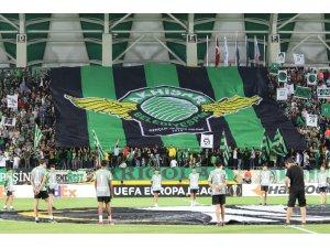 UEFA Avrupa Ligi: Akhisarspor: 0 - Krasnodar: 1 (İlk yarı)