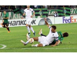 UEFA Avrupa Ligi: Akhisarspor: 0 - Krasnodar: 1 (Maç sonucu)