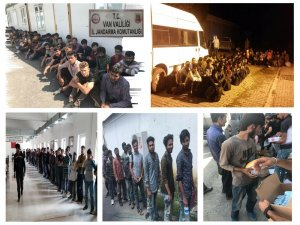 Van'da 267 kaçak göçmen yakalandı