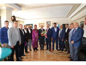Başkan Başsoy'a Ahilik Haftası ziyareti
